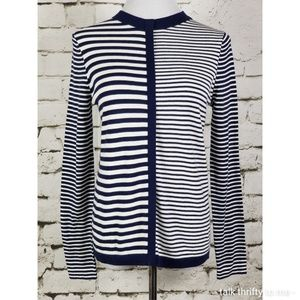 J. McLAUGHLIN | Featherweight Striped Sweater